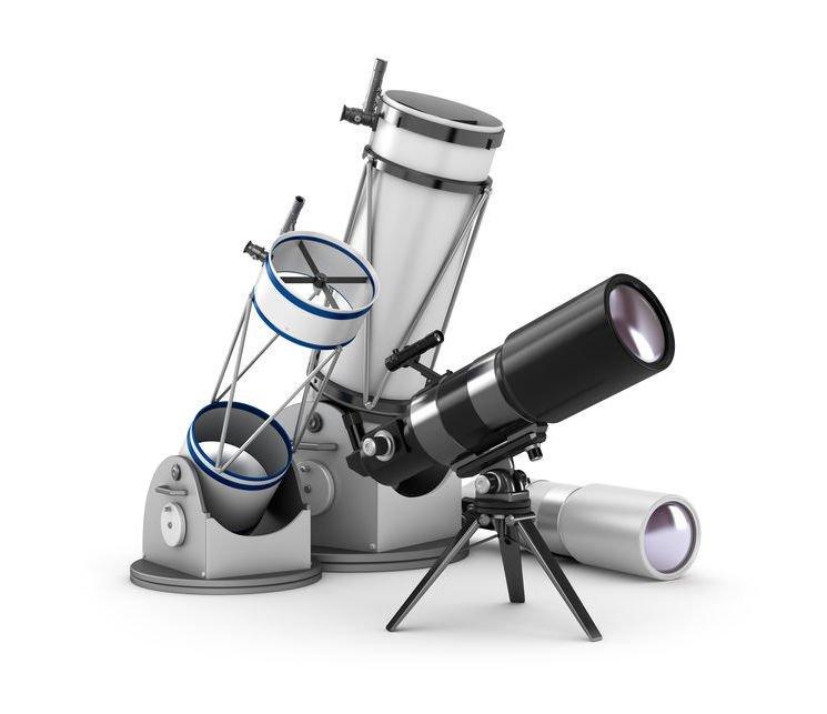 Razni teleskopi; © alexmit @ 123rf.com