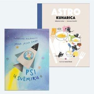 Komplet za male svemiroljupce: Psi u svemiru i Astrokuharica